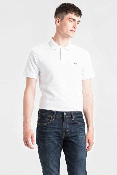 Erkek Beyaz Housemark Good Polo Yaka T-shirt 24574-0000