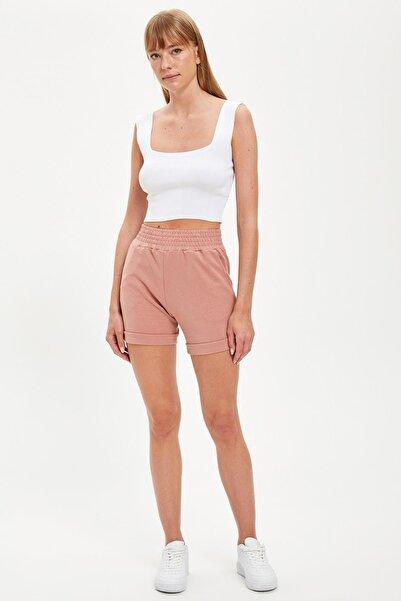 DeFacto Kadın Rose Regular Fit Şort S8882AZ20HS