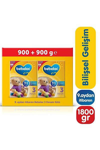 Bebelac 3 900 Gr Mega Size 2'li Paket Devam Sütü