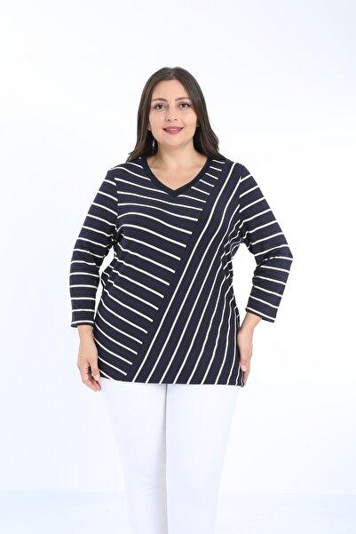 XL Modam Kadın Büyük Beden Triko Tunik