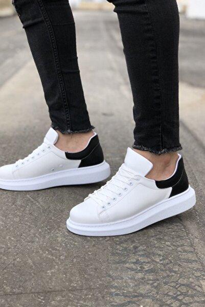 Ch256 Bt Erkek Ayakkabı Beyaz / Siyah