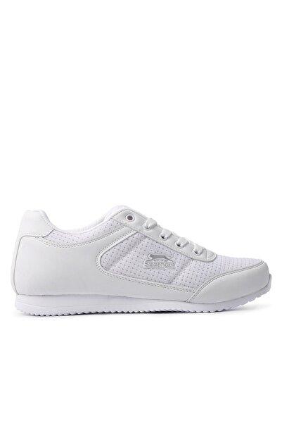 Slazenger Paloma Kadın Beyaz Gümüş  Günlük Giyim Ayakkabı
