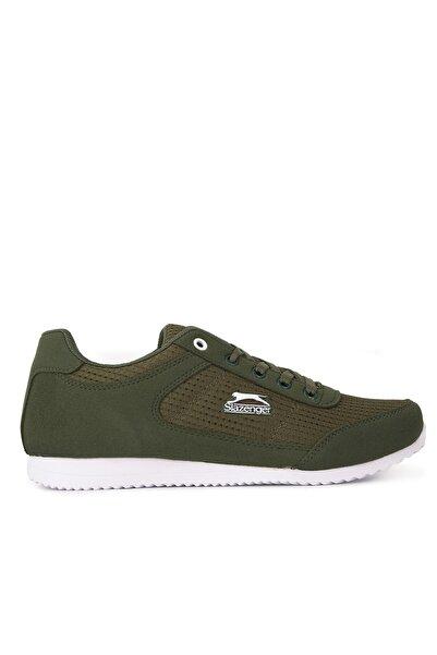 Slazenger Kadın Günlük Giyim Ayakkabı Haki / Beyaz
