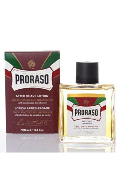 Proraso Red Line Aftershave Lotion Tıraş Losyonu 100ml 8004395009725