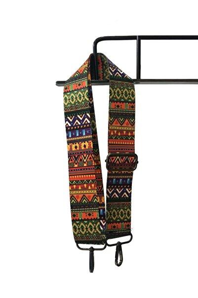 Haliş Desenli Ayarlanabilir Çanta Omuz Askısı
