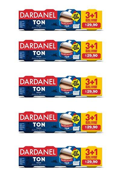 Dardanel 75 gr x 4 Ton Balığı (3+1) 5'li Paket