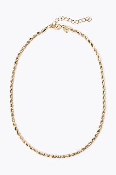 Marks & Spencer Kadın Sarı Burgu Zincir Kolye T06003142F
