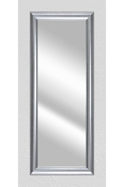 LiliaHome Gümüş Çerçeveli Boy Aynası 40x100 Cm