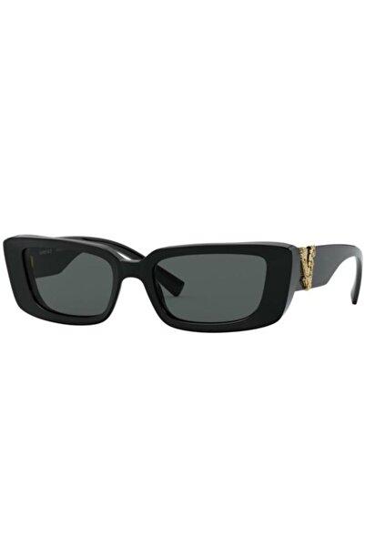 Versace Ve4382 Gb1/87 Kadın Siyah Güneş Gözlüğü