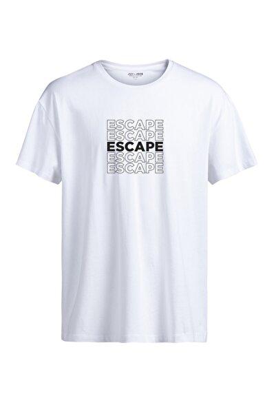 Jack & Jones Bisiklet Yaka T-shirt 12182314 Jprethan