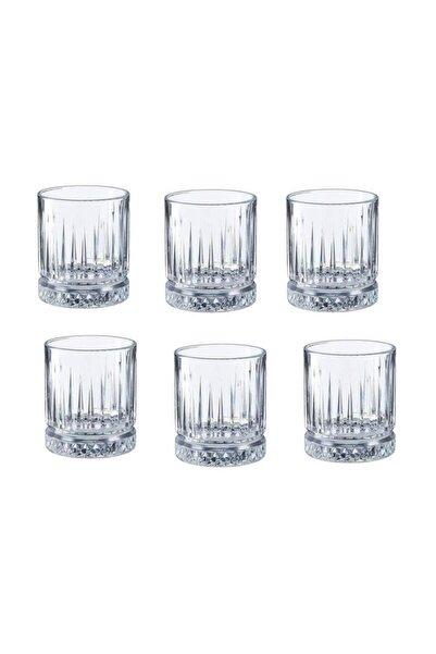 Kristal 6'lı Kahve Yanı Küçük Su Bardağı