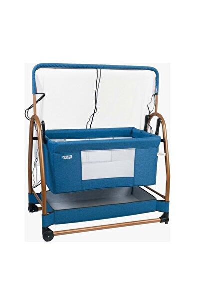 Convers Mavi Baby Rocco Bebek Beşiği Sepet Beşik -