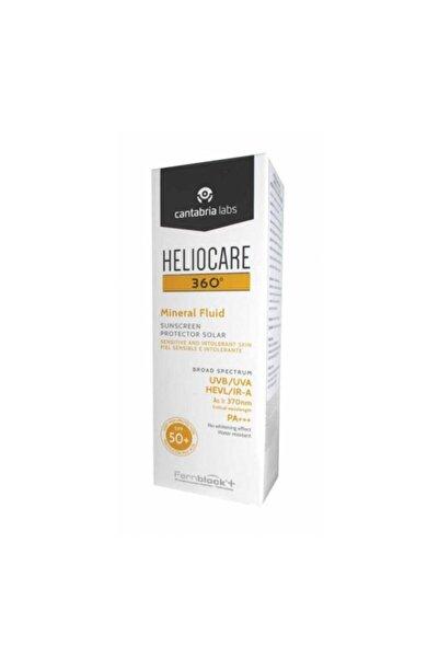 Heliocare 360 Mineral Fluid Spf+50 Güneş Koruyucu Krem 50 Ml