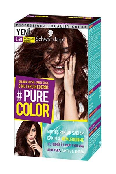 PURE COLOR Saç Boyası 3-68 Böğürtlenli Brownie 4015100295238