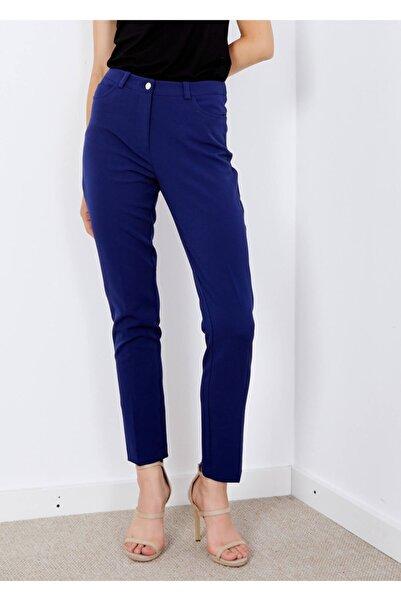 Adze Kadın Lacivert 5 Cepli Pantalon