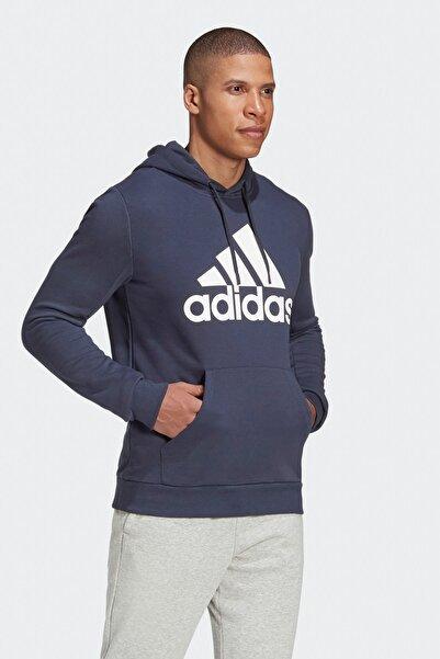 adidas Badge Of Sport French Terry Erkek Lacivert Sweatshirt (GC7