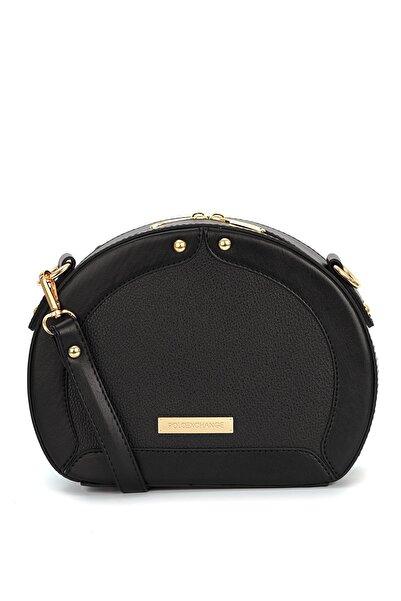 Polo Exchange Kadın Siyah Omuz Çanta