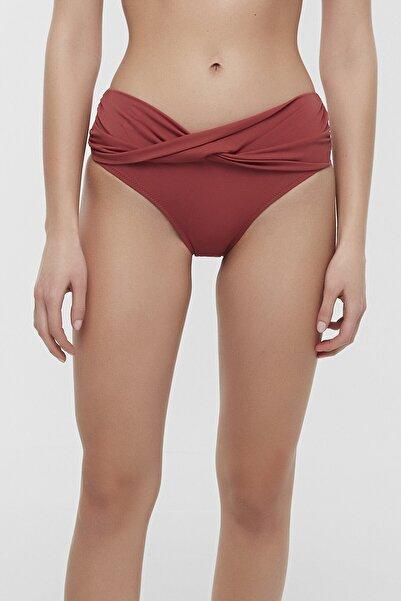 Penti Kadın Koyu Turuncu Basic Twist Bikini Altı