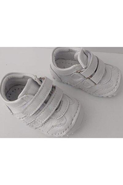 Bebek Gri Parlak Ortopedik Ilk Adım Ayakkabı