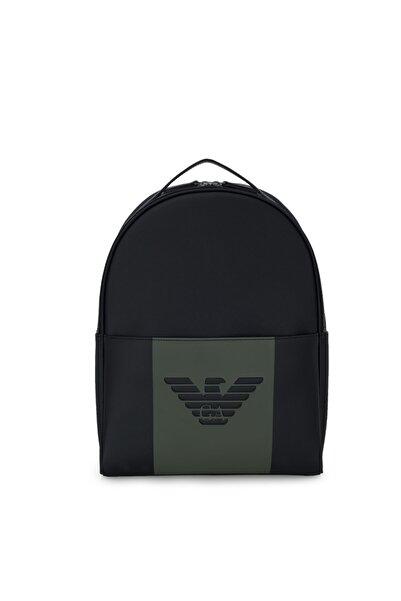 Emporio Armani Erkek Logo Baskılı Ayarlanabilir Askılı Sırt Çantası Y4o215 Yfe6j 84273