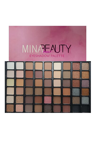 Makeuptime Mina Beauty 54 Renk Far Paleti