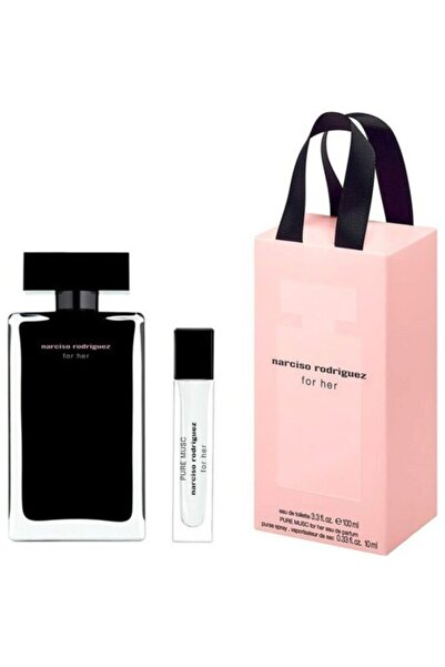 Narciso Rodriguez For Her Edt 100ml+pure Musc Edp 10ml Set