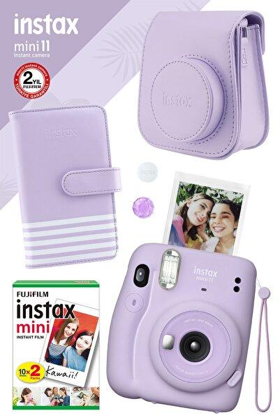 Fujifilm Instax Mini 11 Lila Fotoğraf Makinesi Ve Hediye Seti 1