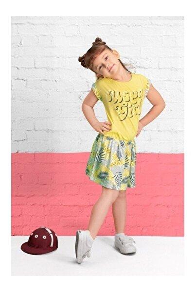 U.S. Polo Assn. Kids Kız Çocuk Sarı Gecelik