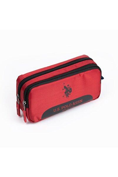 U.S. Polo Assn. Kalem Çantası Kırmızı Plklk20036