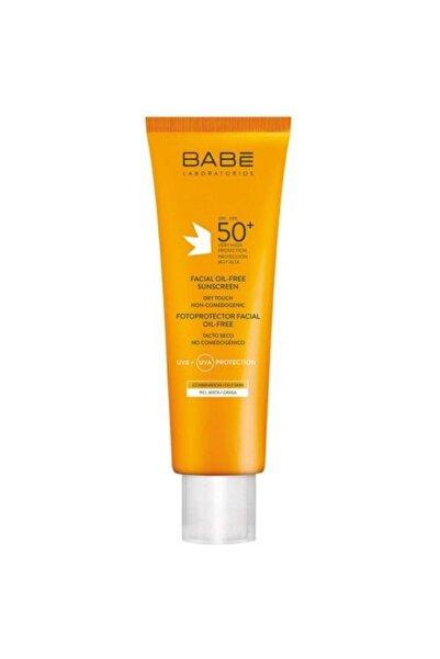 Babe Yüz Için Yağsız Güneş Koruma Kremi - Facial Oil Free Spf 50 + 8437000945499