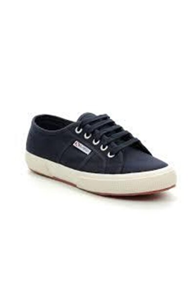 Superga Lacivert Bağcıklı Sneaker