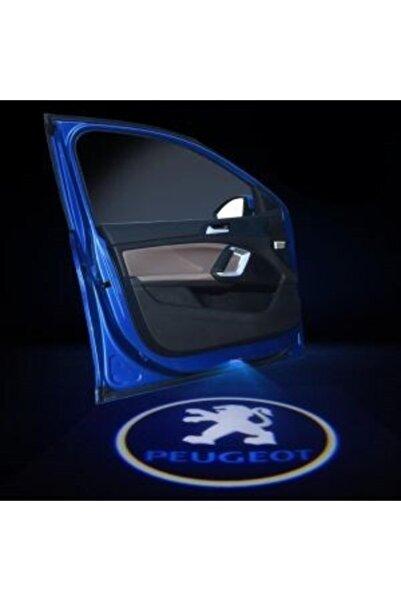 Apex Peugeot Logolu Kapı Altı Hayalet Logo 2 Adet