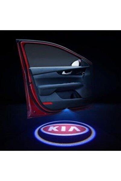 Apex Kia Logolu Kapı Altı Hayalet Logo 2 Adet