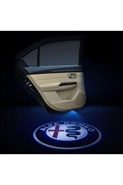 Apex Alfa Romeo Logolu Kapı Altı Hayalet Logo 2 Adet