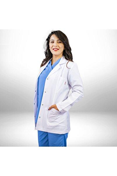 SEZA TEKSTİL Gömlek Yaka Ceket Boy Doktor/hemşire/öğretmen Lab. Önlüğü