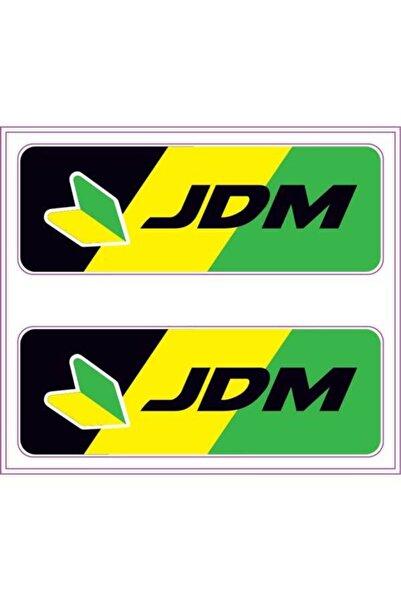 Automix Jdm Sticker Damla Çıkartma Etiket 3d 2 Adet