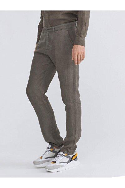 Xint Erkek Xınt %100 Keten Slim Fit Pantolon