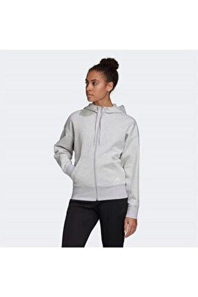 Kadın Gri Sweatshirt W 3s Dk Fz S Hd