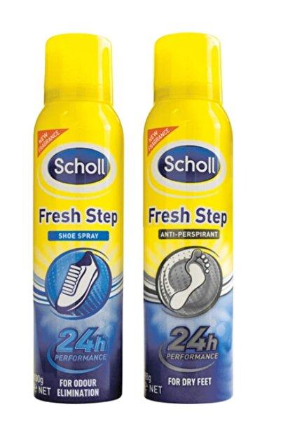 Scholl Koku Giderici Ve Terleme Önleyici Ayak + Ayakkabı Bakım Spreyi