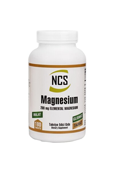 Magnesium (magnezyum) Malat Glisinat Taurat 180 Tablet