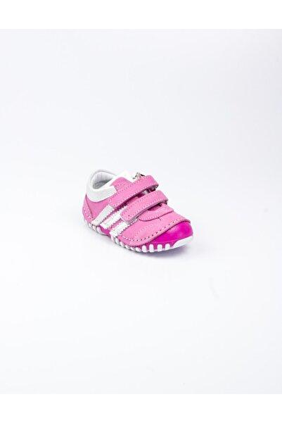 Sanbe 305 S 3502 Pembe Deri Ilk Adım Ayakkabısı Pembe-21