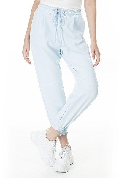 Lela Kadın Mavi Belden Bağlamalı Pantolon  23420y70714