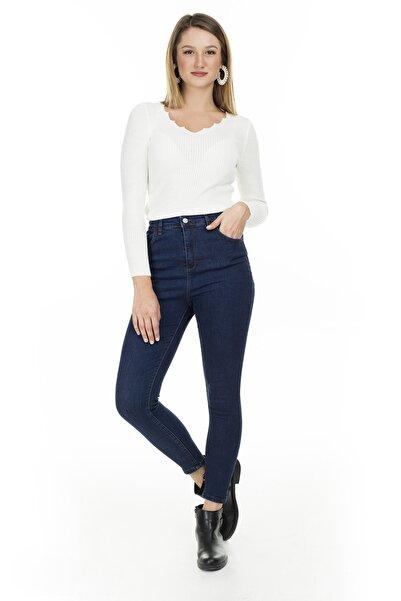 Lela Yüksek Bel Skinny Jeans Kadın Kot Pantolon 58714851