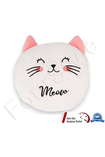 DISNEY 3D Sevimli Kedi Peluş Yastık