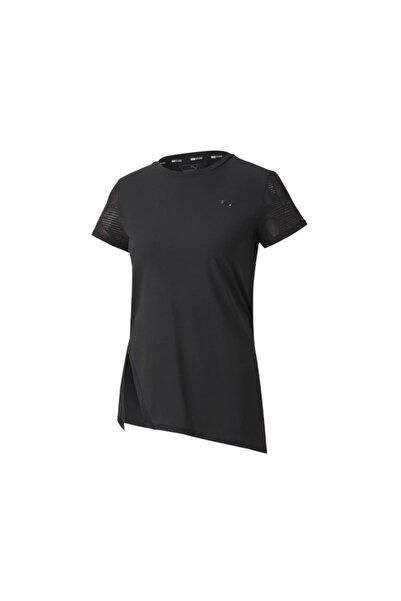 Puma Kadın Siyah Koşu Tişörtü Studio Lace Ss Tee 51950902
