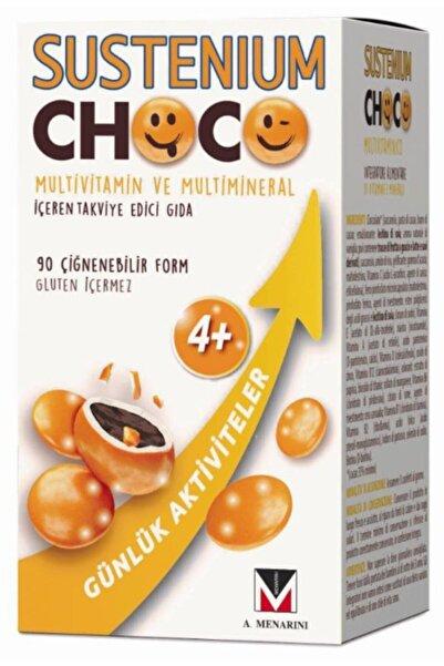 Sustenium Menarini Choco Multivitamin ve Multimineral Çiğneme Tableti 90 Tablet