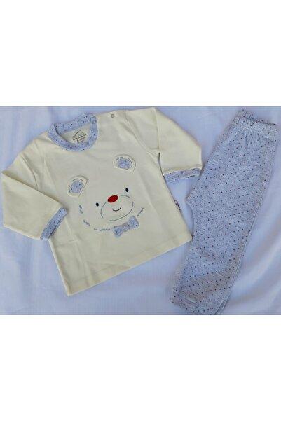 Minidamla Erkek Bebek Bej 2'Li Takım