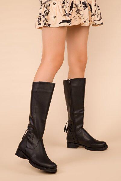 SOHO Siyah Kadın Çizme 15403