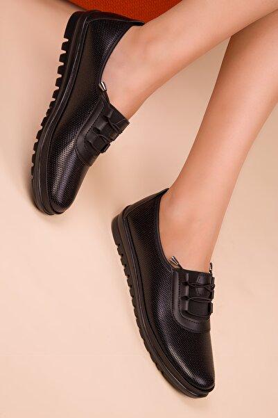 SOHO Siyah Kadın Casual Ayakkabı 15377
