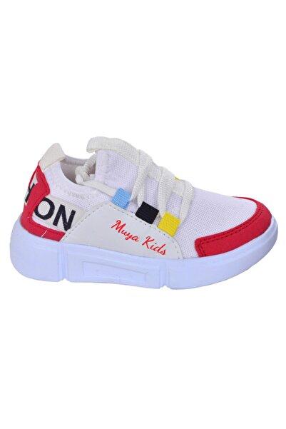 Muya Çocuk Spor Ayakkabı  Günlük Fileli Kız/erkek 89038-44